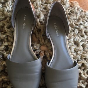 Pre Owned Calvin Klein Flats Shoes